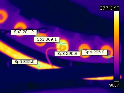 Thermal Scan of Steam Tube Dryer